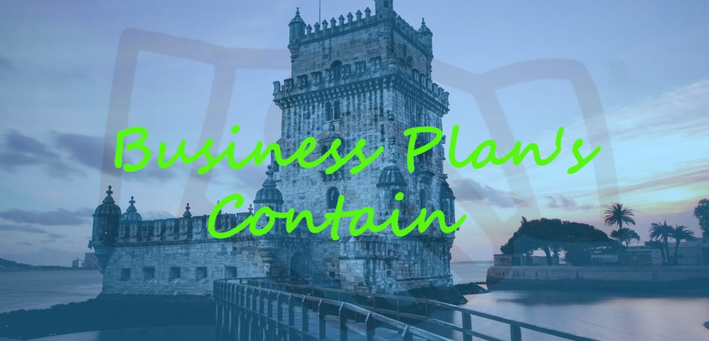 Business Plan Contain