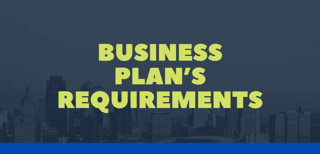 Business Plan's Requirements